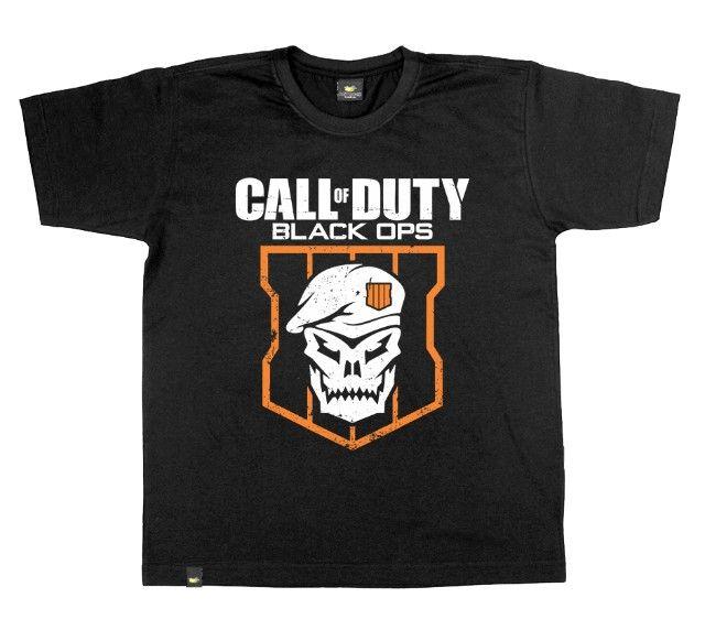Camiseta Call Of Duty - Masculina - Tamanho G