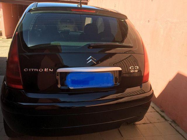 Citroen C3 2005 completo mais couro - Foto 6