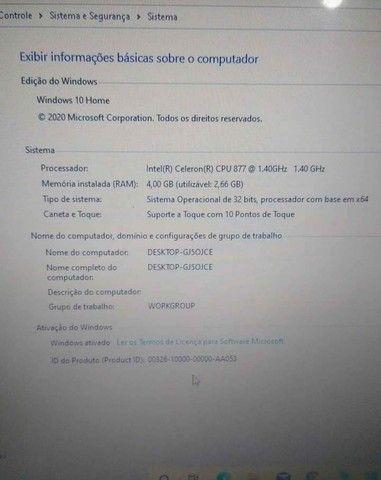 Notebook HP touchscreen  - Foto 2