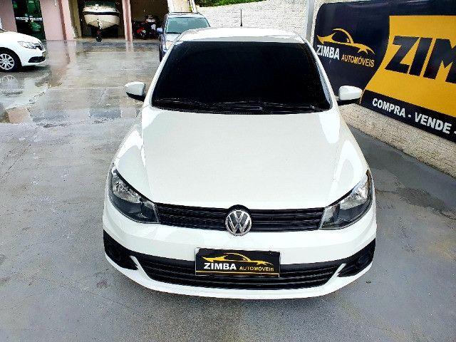 VW- Volkswagen Gol 1.0 12v Total Flex 5p Ano 2019 - Foto 3
