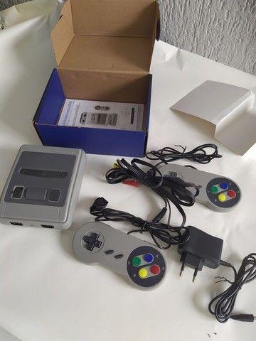 video game console novo completo mini super classic 621 jogos memoria 8bits