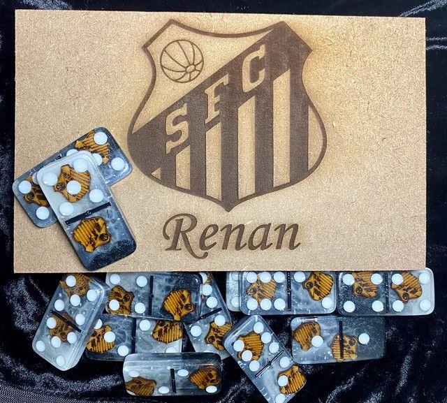 Jogo de dominó Personalizado Exclusivo  - Foto 2
