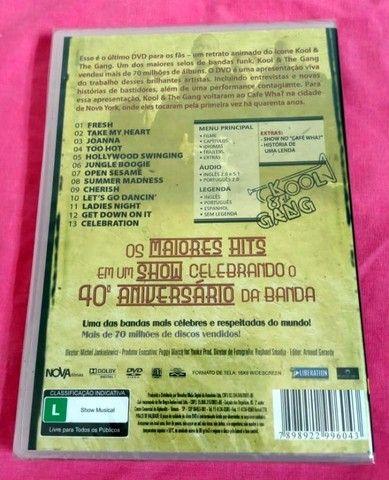 Dvd Kool & The Gang Original Lacrado! - Foto 2