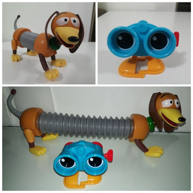 Woody ou Buzz ou coelho ou cão ou robô toy story mattel novos - Foto 2