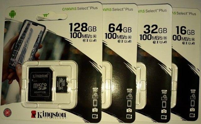 Cartão de memória microSD Kingston Canvas Select Plus 64GB - Foto 3