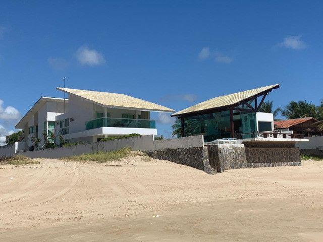 (RBA) Vendo incrível casa na beira-mar na praia de Serrambi, 500m², 7 suítes! - Foto 2