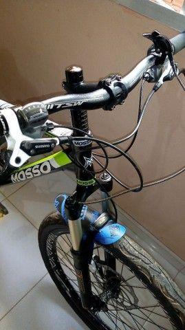 Bicicleta aro 26 quadro Mosso alumínio tamanho 18. - Foto 2