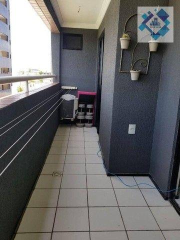 Apartamento com 3 dormitórios à venda, 90 m² por R$ 490.000 - Vila União - Fortaleza/CE - Foto 4