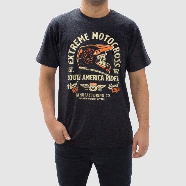 Camiseta Moto Extreme -Masculina - Tamanho G