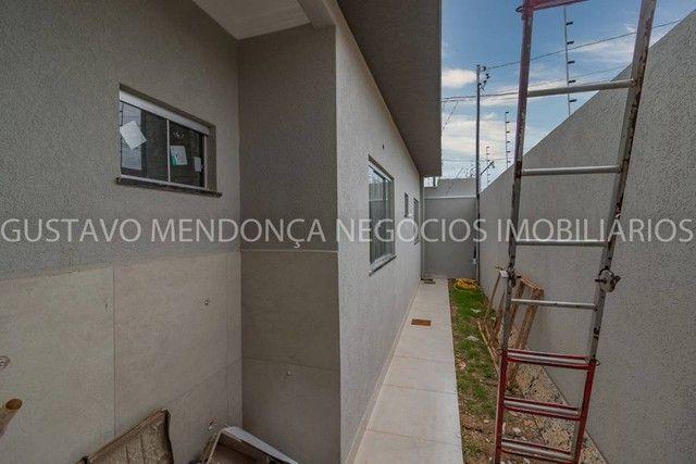 Linda casa nova no bairro Rita Vieira 1 - Alto padrão de acabamento e em excelente localiz - Foto 18