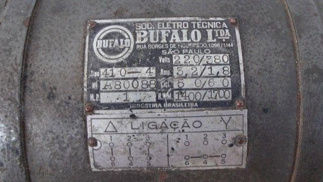 Motor Elétrico Bufalo 220/380 - Foto 2