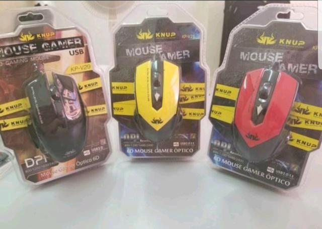 Mouse knup Gamer Top novo lacrado