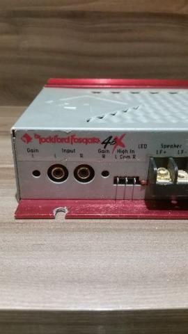 Modulo Rockford Fosgate 4.6x 300 Watts Som Automotivo Potencia Carnaval Audio Carro