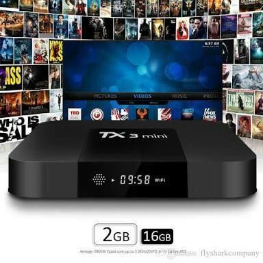 Tv Box TX3 mini 2GB/16GB + Canais, Filmes, Series, Jogos, Entrega