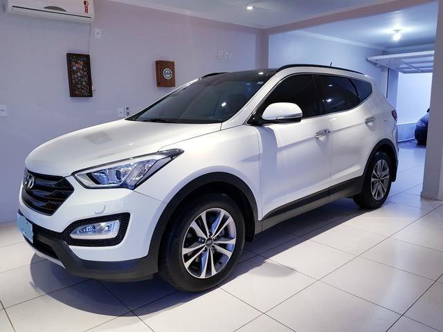 Hyundai Santa Fé 2015 Raridade 3.3 7 Lugares 270cv 28.000 Km Zerada - Foto 2