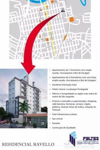 Apartamento à venda com 1 dormitórios em Centro, São leopoldo cod:6158 - Foto 3