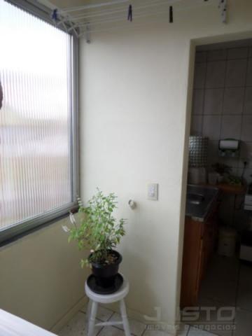 Apartamento à venda com 2 dormitórios em Padre reus, São leopoldo cod:3443 - Foto 16