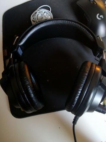 Mousepad + headset gamer