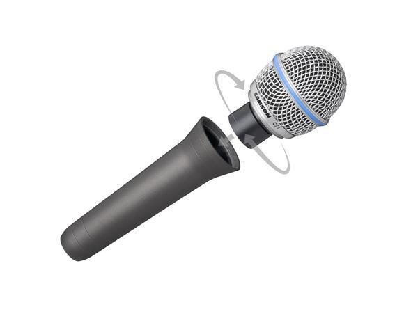 Microfone Samson CS Series c/ 2 Cápsulas (Link Para Compra) - Foto 2