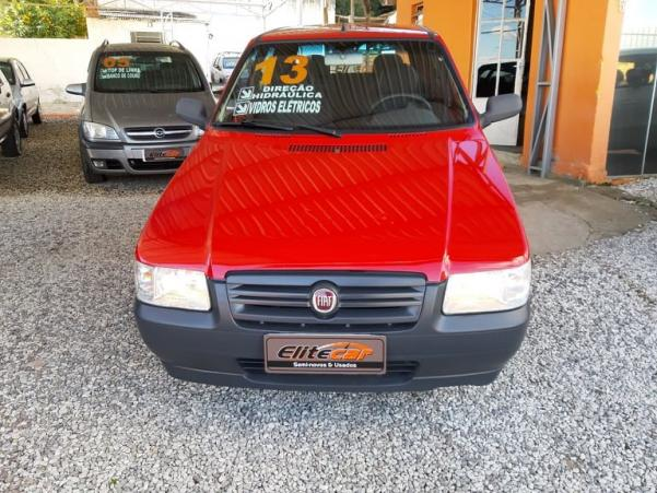 FIAT UNO 2012/2013 1.0 MPI MILLE WAY ECONOMY 8V FLEX 4P MANUAL - Foto 2