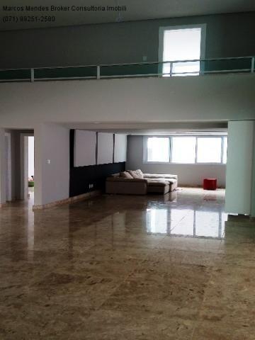 Linda casa pra venda ou locação - Alphaville Salvador 1. Lote diferenciado em parte alta.  - Foto 11