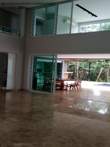 Linda casa pra venda ou locação - Alphaville Salvador 1. Lote diferenciado em parte alta.  - Foto 7