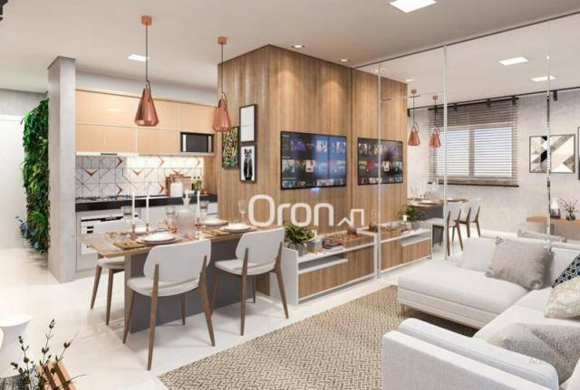 Apartamento com 2 dormitórios à venda, 58 m² por R$ 203.000,00 - Vila Rosa - Goiânia/GO - Foto 5