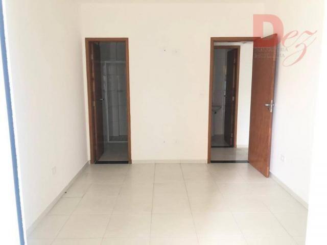 Apartamento com 2 dormitórios para alugar, 92 m² por r$ 2.200/mês - vila guilhermina - pra - Foto 18