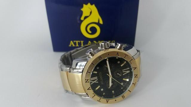e07fe646b3a Relógio Masculino Atlantis Original Frete Grátis - Bijouterias ...