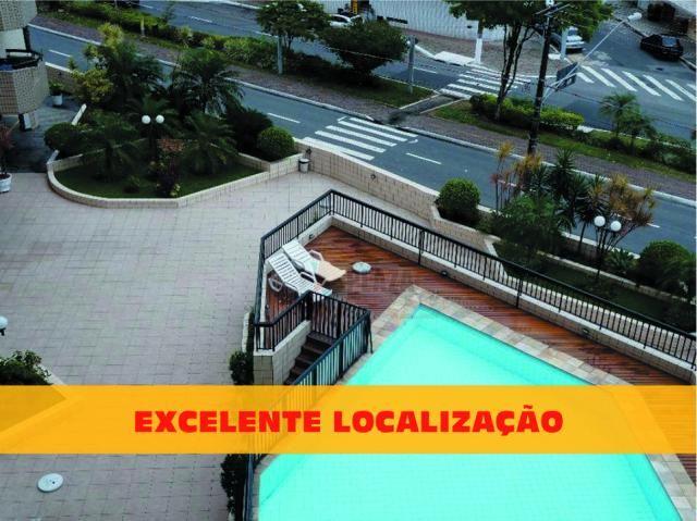 Apartamento com 2 dormitórios à venda, 70 m² por R$ 250.000,00 - Canto do Forte - Praia Gr - Foto 3