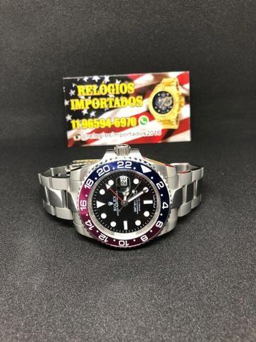 7669ee1e004 Só Rolex importado de luxo! Relógio elegante - Bijouterias