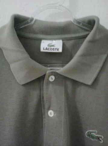 a2c93525e2b70 Vendo  Camisa Polo Masculina - Marca  Lacoste, Original - Tamanho  5 G BR