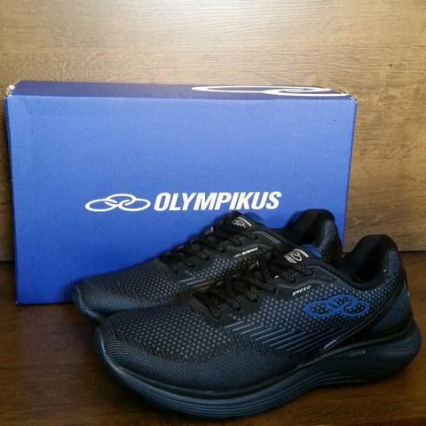 f6b53a0e30 Tenis Masculino Azul Olympikus Original - Fazemos Entrega
