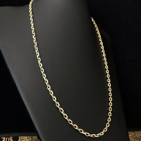 3f1fd1cfc39 Corrente Cartier em Ouro 18k 750 com 15