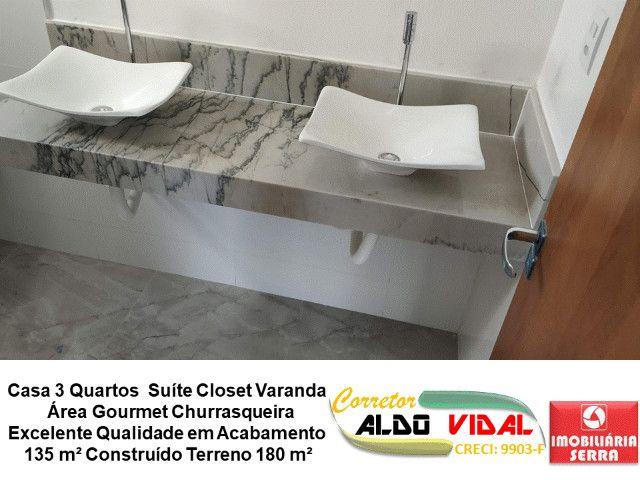 ARV 11. Casa 3 Quartos, Varanda, Suíte, Churrasqueira, Quintal Grande - Foto 5