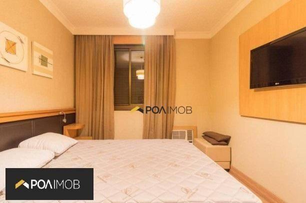 Apartamento mobiliado com 01 dormitório no Moinhos de Vento - Foto 9