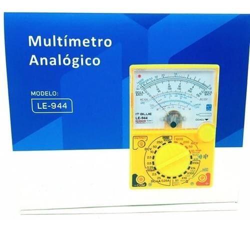 Multímetro analógico it-blue le-944