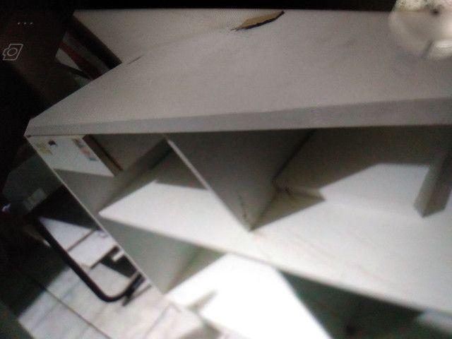 Vendo. Chapa+ prensa +fritadeira e coifa  3 balcões de mdf - Foto 5