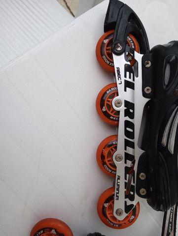 Patins Bel Rollers BX5000 - Foto 5