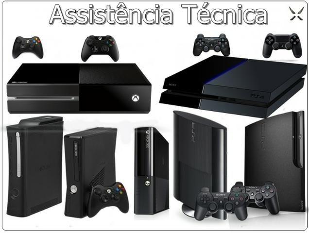 Assistência Técnica em Games e Controles