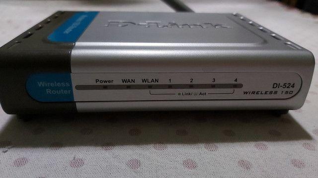 Roteador Wireless D-Link DI-524
