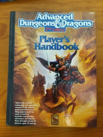 RPG AD&D 2nd Edition - Dungeon Master Guide + Player's Handbook + Brinde - Foto 3