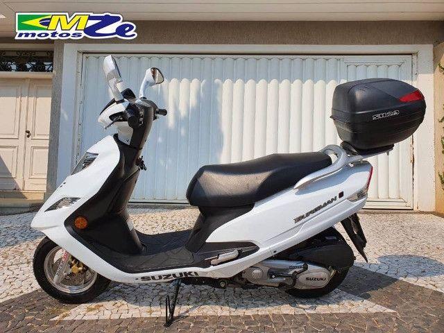 Suzuki Burgman I 125 2019 Branca com 800 km