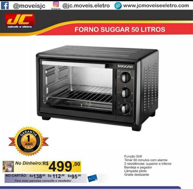 FORNO SUGGAR 50 LITROS DIRETO DE FÁBRICA