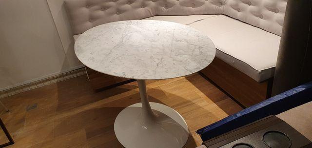 Mesa Saarinen Oval - Carrara 1.20 x 0.80 - Foto 3