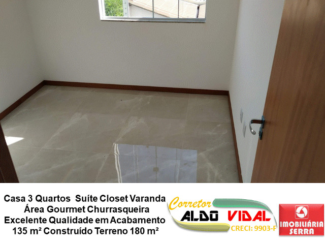 ARV 11. Casa 3 Quartos, Varanda, Suíte, Churrasqueira, Quintal Grande - Foto 4