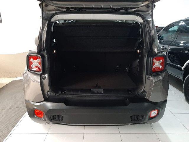 Jeep renegade automática limited 1.8 completo banco de couro único dono garantia fabrica - Foto 10