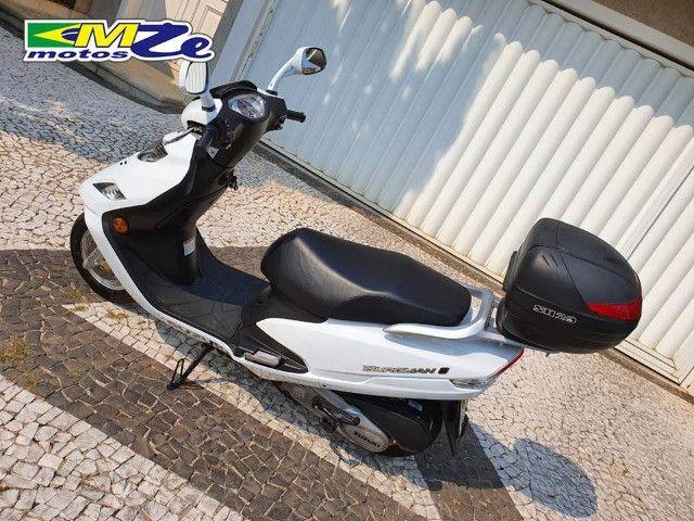 Suzuki Burgman I 125 2019 Branca com 800 km - Foto 6