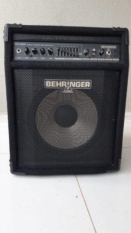 Amplificador Behringer Para Contrabaixo Ultrabass Bxl900a