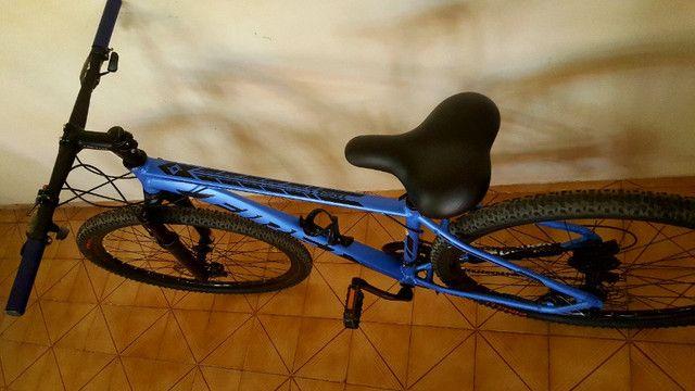 Bike bicicleta First aro 29 montada - Foto 4